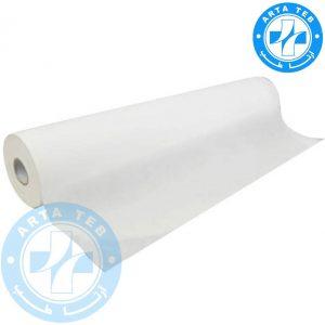 رول ملحفه یکبار مصرف عرض 60 گرماژ 17 سفید 20 متر (1)