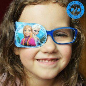 چشم بند عینک (پد عینک) را برای درمان تنبلی چشم کودکان استفاده کنیم!! (2)