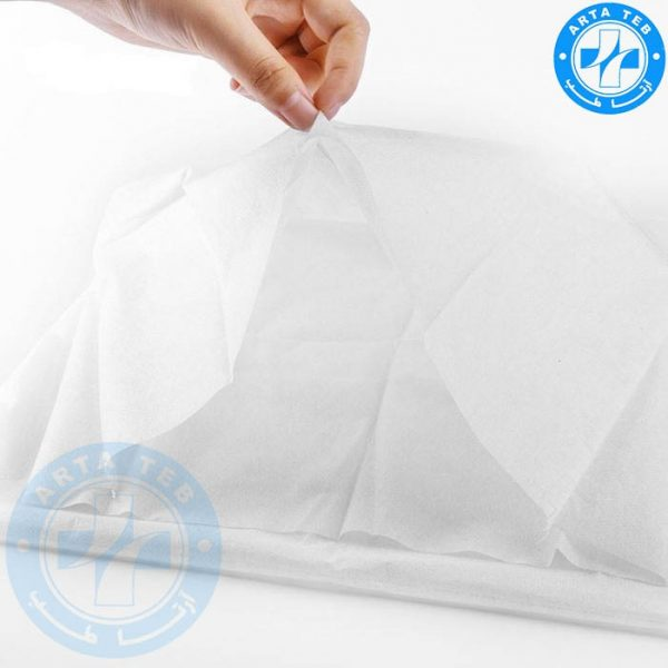 روبالشی یکبار مصرف ۵۰۷۰ سفید ۲۵ گرم (3)