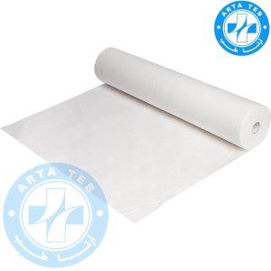 رول ملحفه یکبار مصرف عرض 60 گرماژ 17 سفید 30 متر
