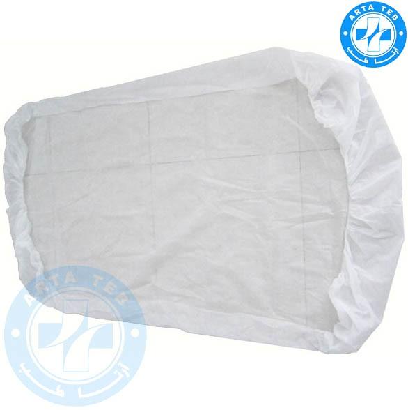 ملحفه یکبار مصرف کشدار 120220 سفید 25 گرم (5)