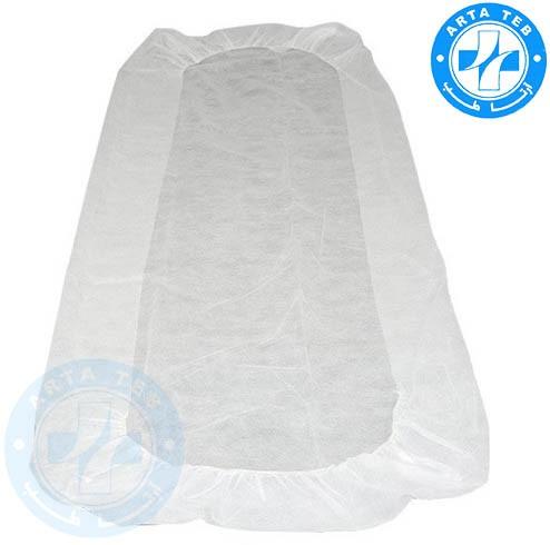 ملحفه یکبار مصرف کشدار 80220 سفید 25 گرم (3)