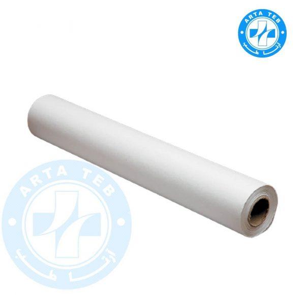 رول ملحفه یکبار مصرف عرض 60 گرماژ 20 سفید 20 متر (1)