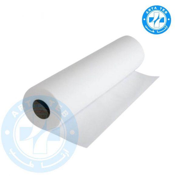 رول ملحفه یکبار مصرف عرض 60 گرماژ 20 سفید 20 متر (3)