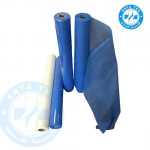 رول ملحفه یکبار مصرف عرض 80 گرماژ 17 آبی 18 متر (2)