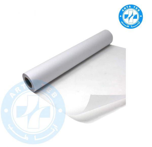 رول ملحفه یکبار مصرف عرض 80 گرماژ 17 سفید 40 متر (2)