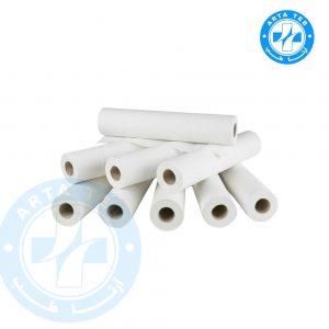 رول ملحفه یکبار مصرف عرض 80 گرماژ 20 سفید 20 متر (1)