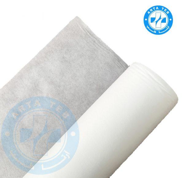 رول ملحفه یکبار مصرف عرض 80 گرماژ 20 سفید 20 متر (3)